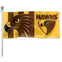 AFL Hawthorn Hawks Pole Flag