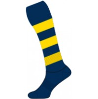 Sekem Football Socks - Navy/Gold
