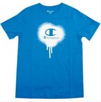 Champion Graff Boys Tee - Blue