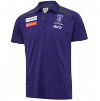 AFL Fremantle Dockers 2020 Mens Media Polo