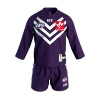 AFL Fremantle Dockers 2018 Toddler Home Guernsey Set