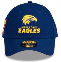 AFL New Era West Coast Eagles 9Forty Media Cap