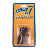 Super K Metal Whistle with Lanyard