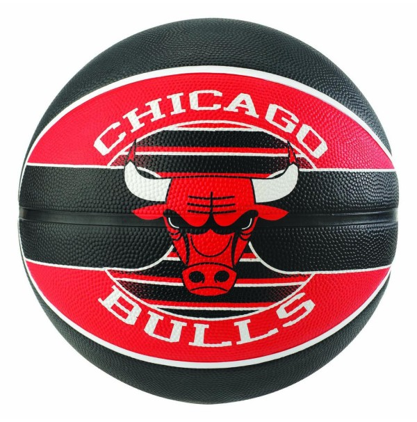 Spalding NBA Team Series Chicago Bulls Rubber Basketball