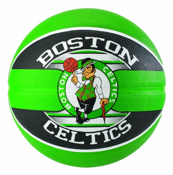 Spalding NBA Team Series Boston Celtics Rubber Basketball