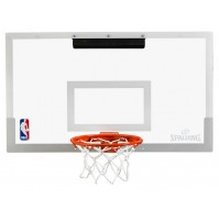 Spalding NBA Arena Slam 180° Mini Backboard