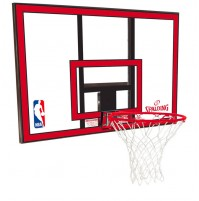 "Spalding 44"" Polycarbonate Backboard & Bracket Combo"