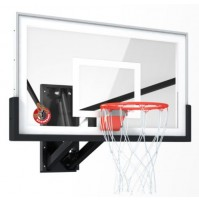 "Boomering 60"" Glass Wall Mount Backboard"