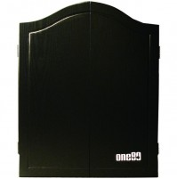 One80 Black MDF Wood Cabinet
