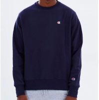 Champion C Logo Crew Jumper M - Navy