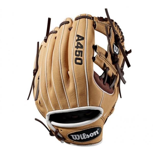 "Wilson A450 11.5"" RH Baseball Glove"