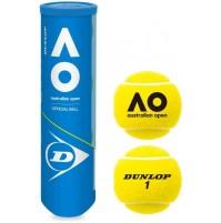Dunlop Aus Open Tennis Balls 4pk