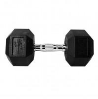 Ringmaster Rubber Hex Dumbbell - 40kg