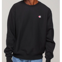 Champion C Logo Crew Jumper M - Black