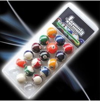 Formula 1 7/8 Pool Balls