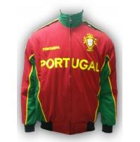 Portugal National Soccer Jacket Red