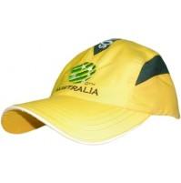 Socceroos FFA Triple Mesh Panel Cap - Gold