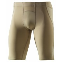Skins A400 Mens Half Tights - Flesh