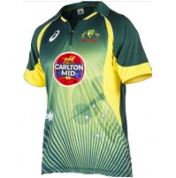 Asics Cricket Australia ODI Home Shirt