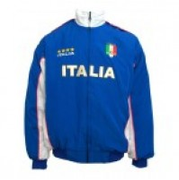 Italy Supporters Jacket Jnr